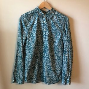Talbots Women's Button Down Top - Size Medium